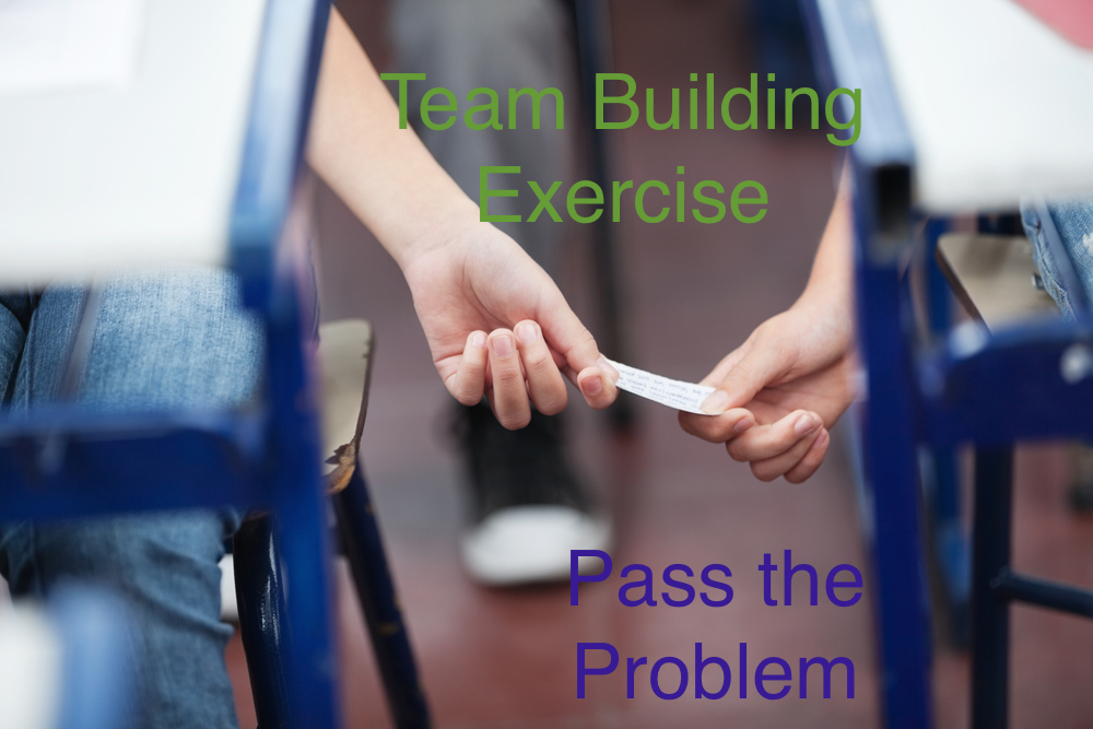 Team building doesn't always have to be weekend retreats - try this simple exercise at your next meeting