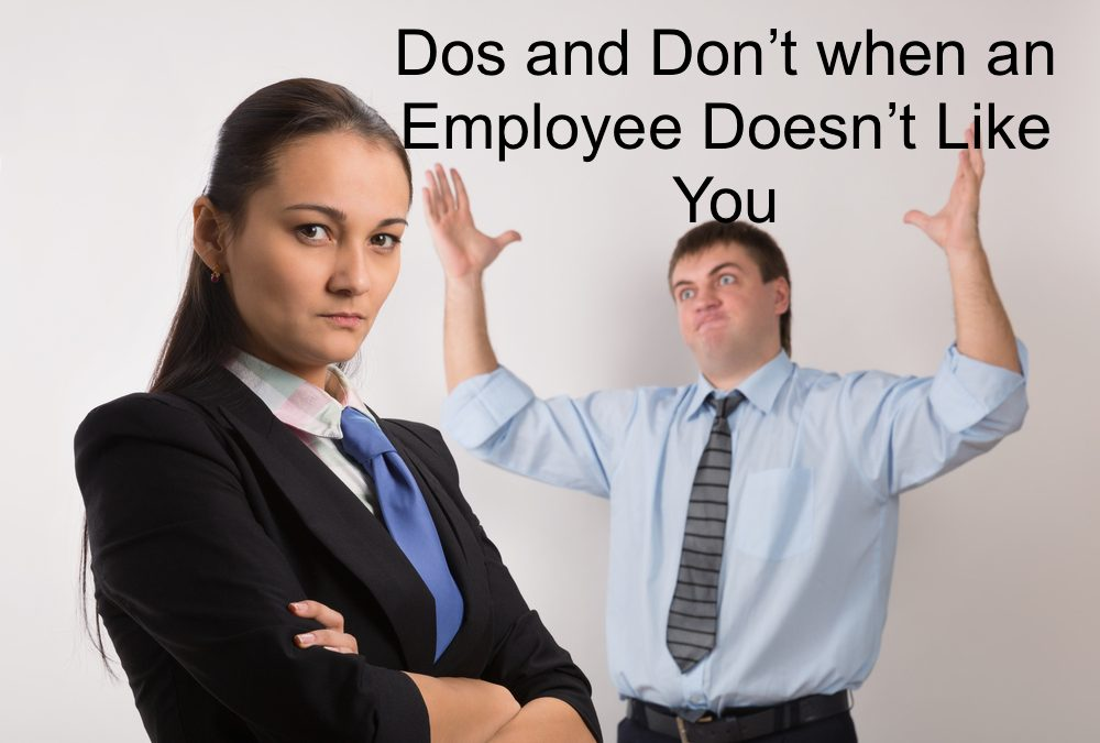 How you should behave when someone doesn't like you at work