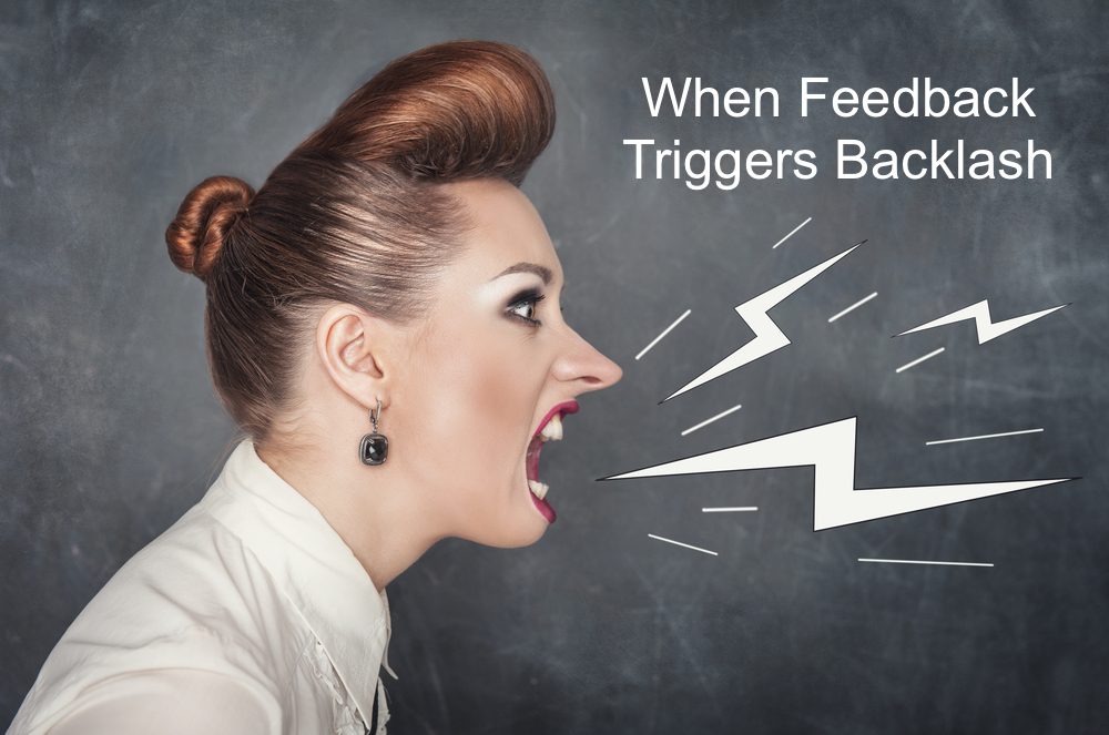 Feedback can cause unpleasant reactions - here's how to handle them