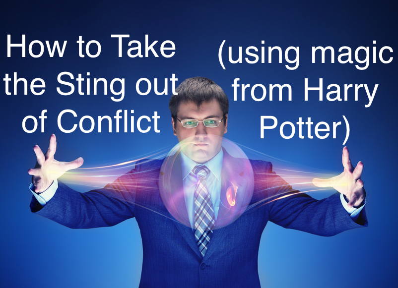 How to take the sting out of conflict (using magic from Harry Potter)