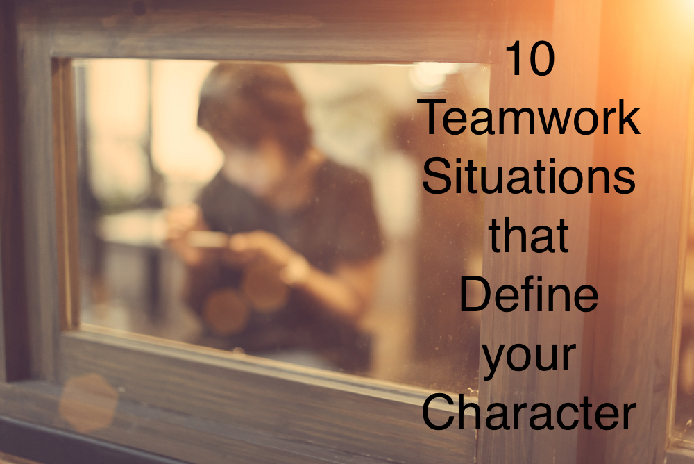 How do you behave in a teamwork setting? Ask yourself these questions to find out.
